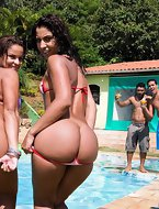 Fernannda and Mayara - big ass girls.